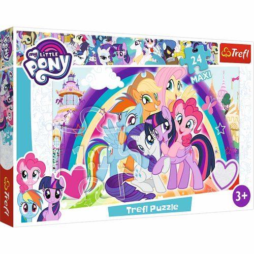 Trefl Puzzle maxi 24el. My Little Pony: Szczęśliwe kucyki