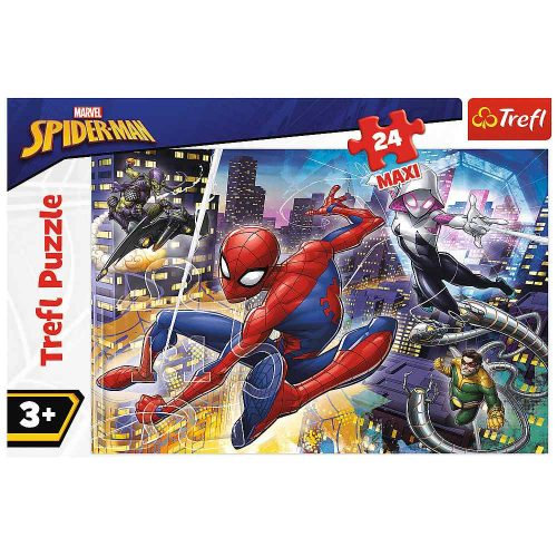 Trefl Puzzle maxi 24el. Nieustraszony SpiderMan