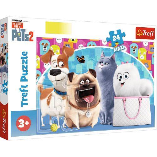 Trefl Puzzle maxi 24el. Wesołe pupile