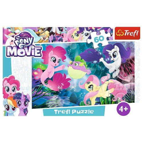 Trefl Puzzle 60el. My Little Pony: Podwodne kucyki