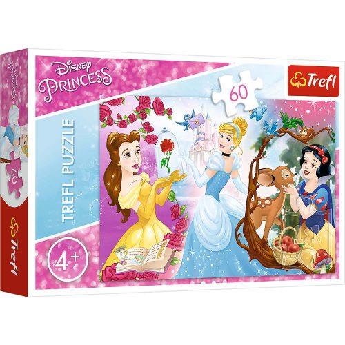 Trefl Puzzle 60el. Księżniczki: Zaproszenie na bal