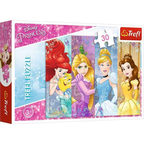 Trefl Puzzle 30el. Księżniczki: Bajkowe Księżniczki