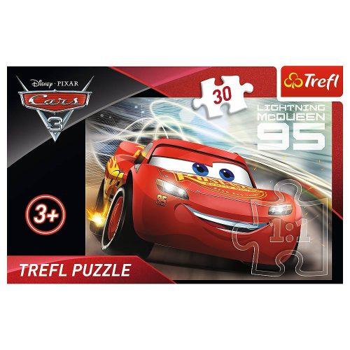 Trefl Puzzle 30el. Auta 3: Zygzak McQueen