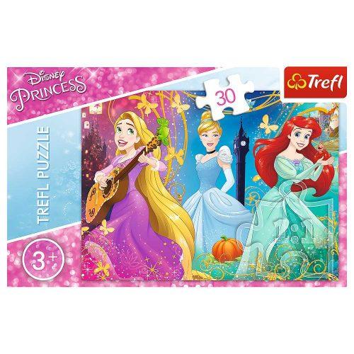 Trefl Puzzle 30el. Księżniczki: Zaczarowana melodia