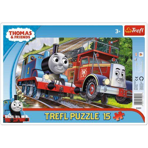 Trefl Puzzle ramkowe 15el. Tomek i Felek