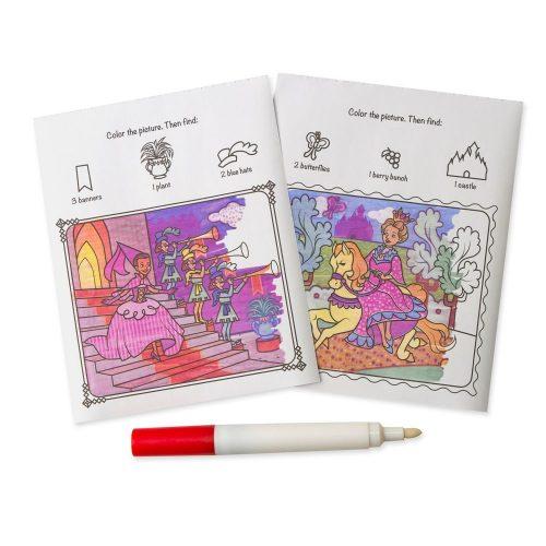 Melissa & Doug Kolorowanka wielorazowa colorblast księżniczka+ magiczny mazak