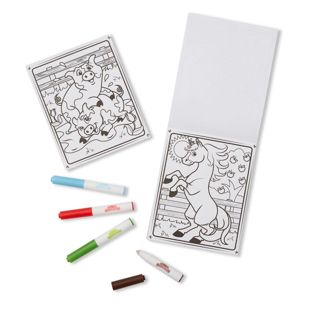 Melissa & Doug Kolorowanka wielorazowa Magiccolor z magicznym mazakiem farma