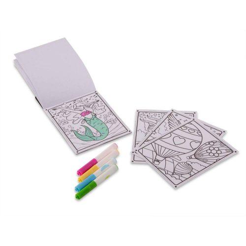 Melissa & Doug Kolorowanka wielorazowa magic kolor przyjaciele + mazak magiczny