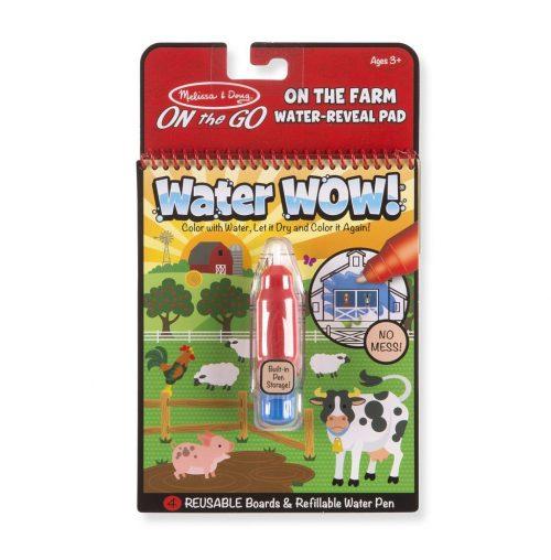 Melissa & Doug Wielorazowe kolorowanki wodne farma waterwow magiczny mazak