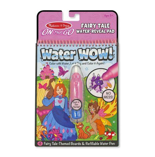 Melissa & Doug Wielorazowe kolorowanki wodne księżniczka waterwoow magiczny mazak