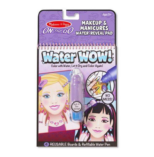 Melissa & Doug Wielorazowe kolorowanki wodne makijaż i manicure waterwow magiczny mazak