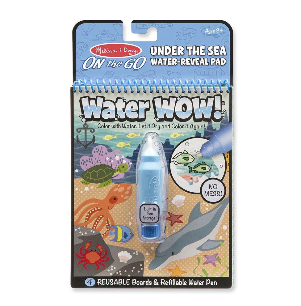 Melissa & Doug Wielorazowe kolorowanki wodne podwodny świat waterwow magiczny mazak