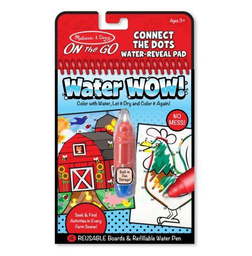 Melissa & Doug Wielorazowe kolorowanki wodne połącz kropki waterwow magiczny mazak