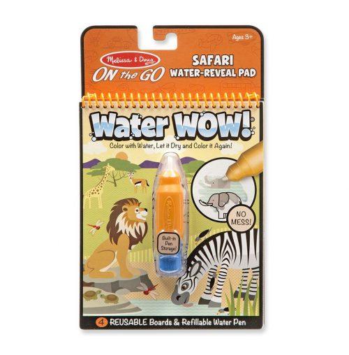 Melissa & Doug Wielorazowe kolorowanki wodne safari waterwow magiczny mazak