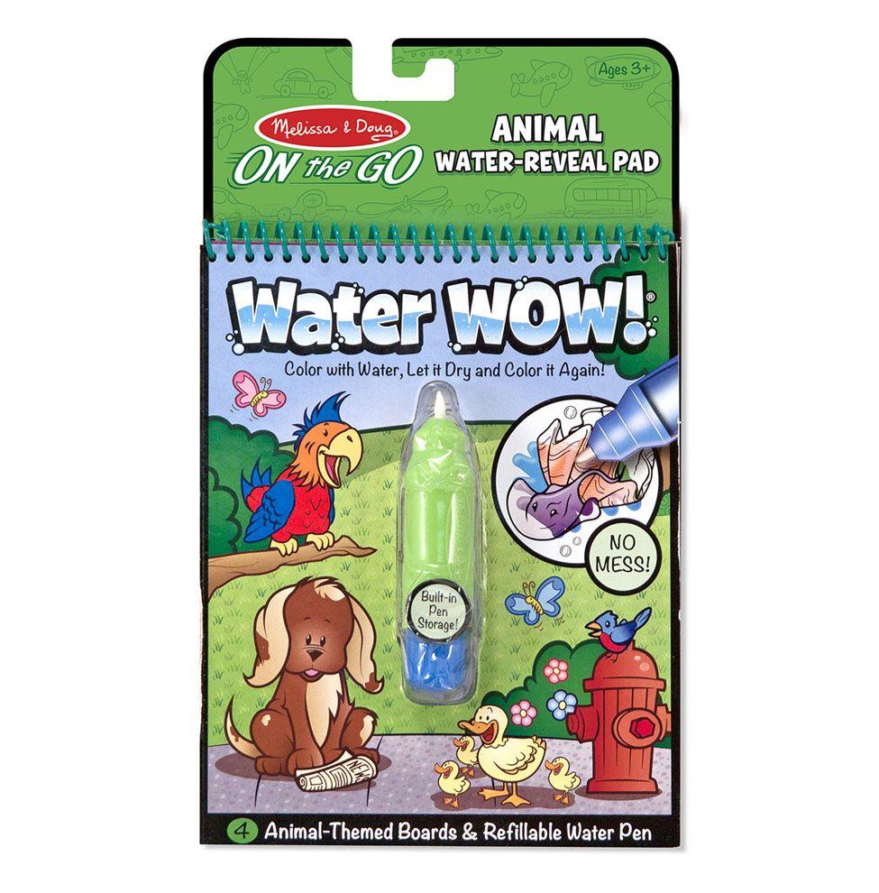 Melissa & Doug Wielorazowe kolorowanki wodne zwierzaki waterwow magiczny mazak