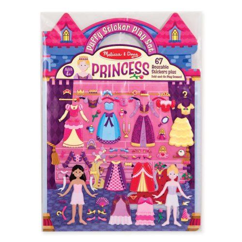 Melissa & Doug Wypukłe naklejki księżniczki