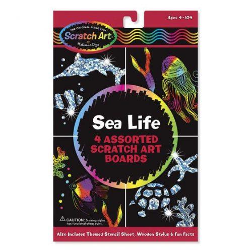 Melissa & Doug Zestaw do grawerowania Sea Life