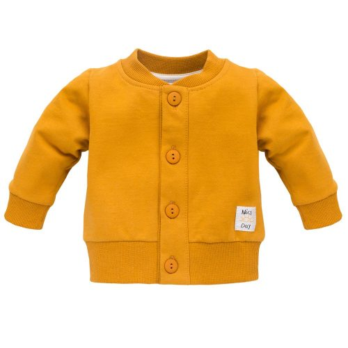 Rozpinana bluza Pinokio Nice Day  74 Żółty