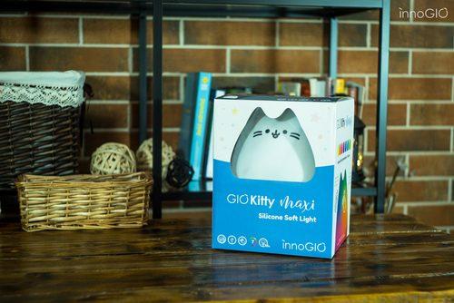 Nocna lampka ledowa dla dzieci Kitty Innogio rozmiar Midi 7 kolorów