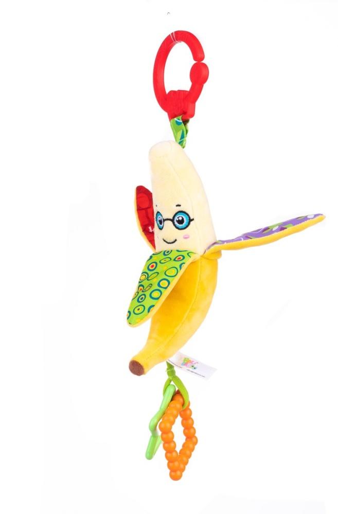 Zawieszka do wózka szeleścik banan Balibazoo