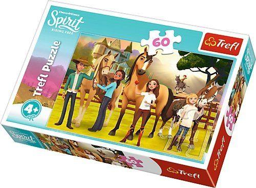 Trefl Puzzle 60el. Spirit Duch Wolności: Smak Przyjaźni