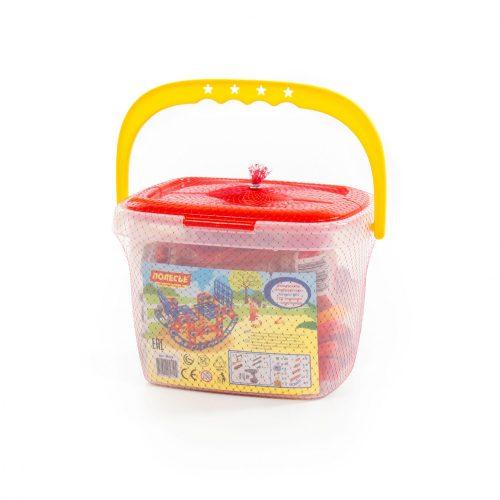 Mały kontstruktor zabawka dla dziecka rozkręcanie 122 elem. + śrubokręt elektryczny wkrętarka