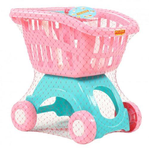 Wózek sklepowy na zakupy wózki do sklepu róż