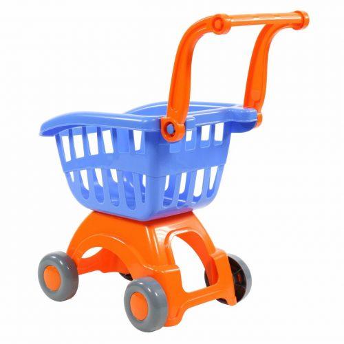 Wózek sklepowy na zakupy wózki do sklepu niebieski