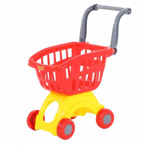 Mini wózek sklepowy, wózek do sklepu spożywczego czerwony