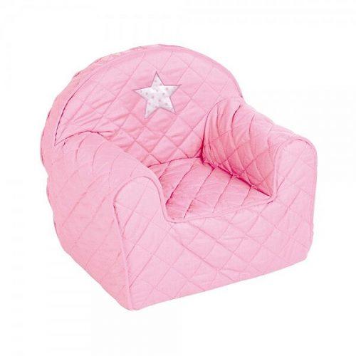 Piankowy fotelik dla dziecka Albero Mio gwiazdka rózowa