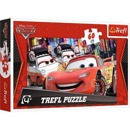 Trefl Puzzle 60el. Auta 2: Tokio