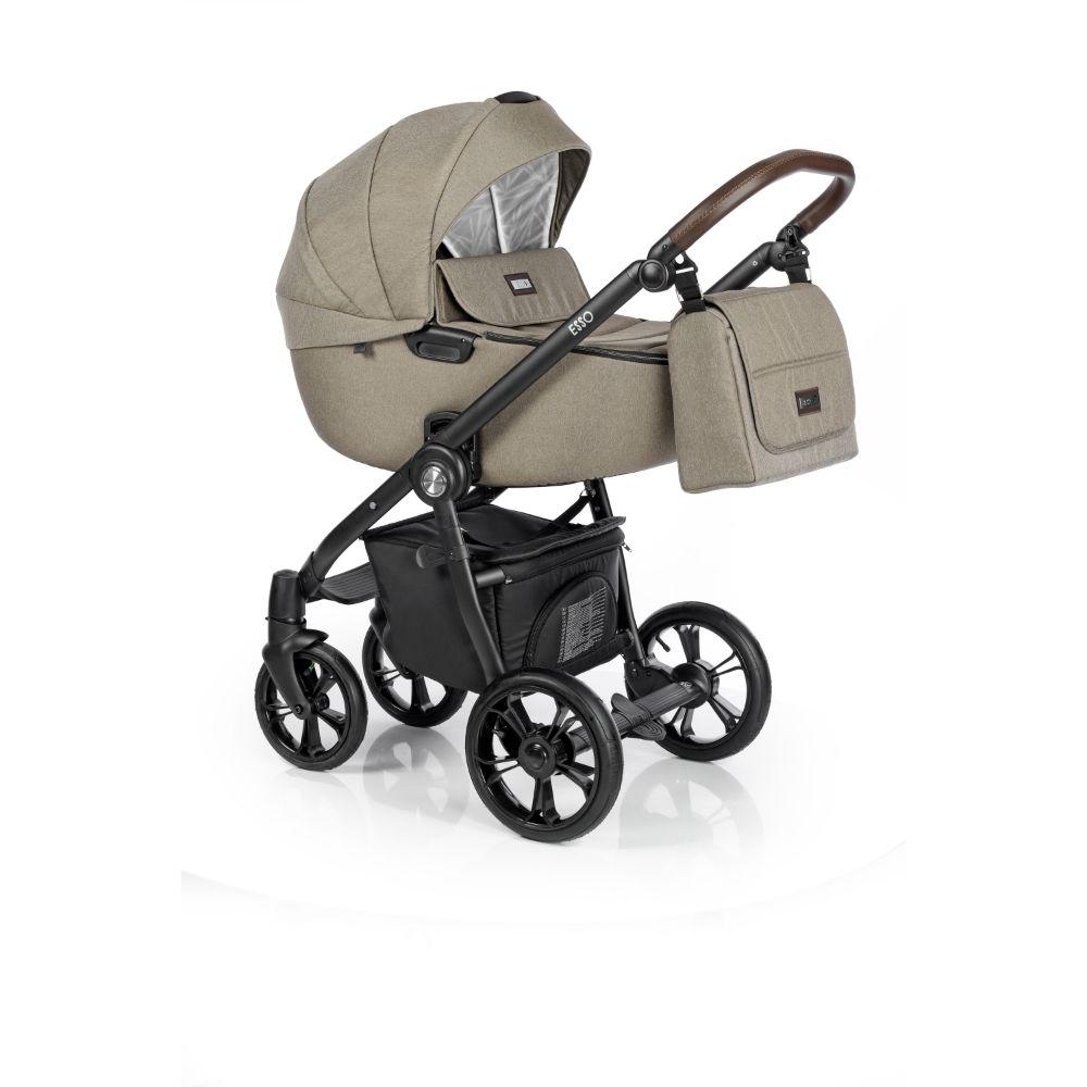 Wózek głeboko spacerowy Roan Esso zestaw 2w1 kolor Khaki + GRATIS !