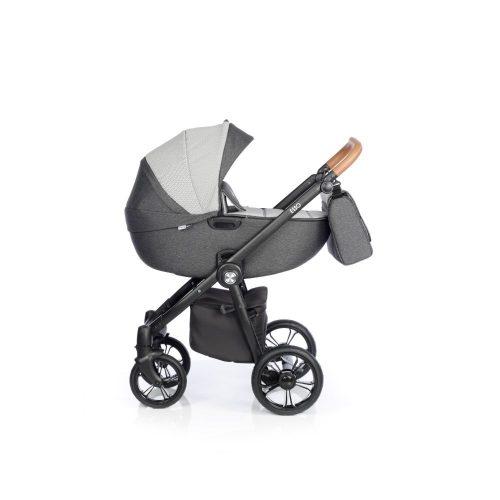 Wózek głeboko spacerowy Roan Esso zestaw 2w1 kolor Magnet + GRATIS !