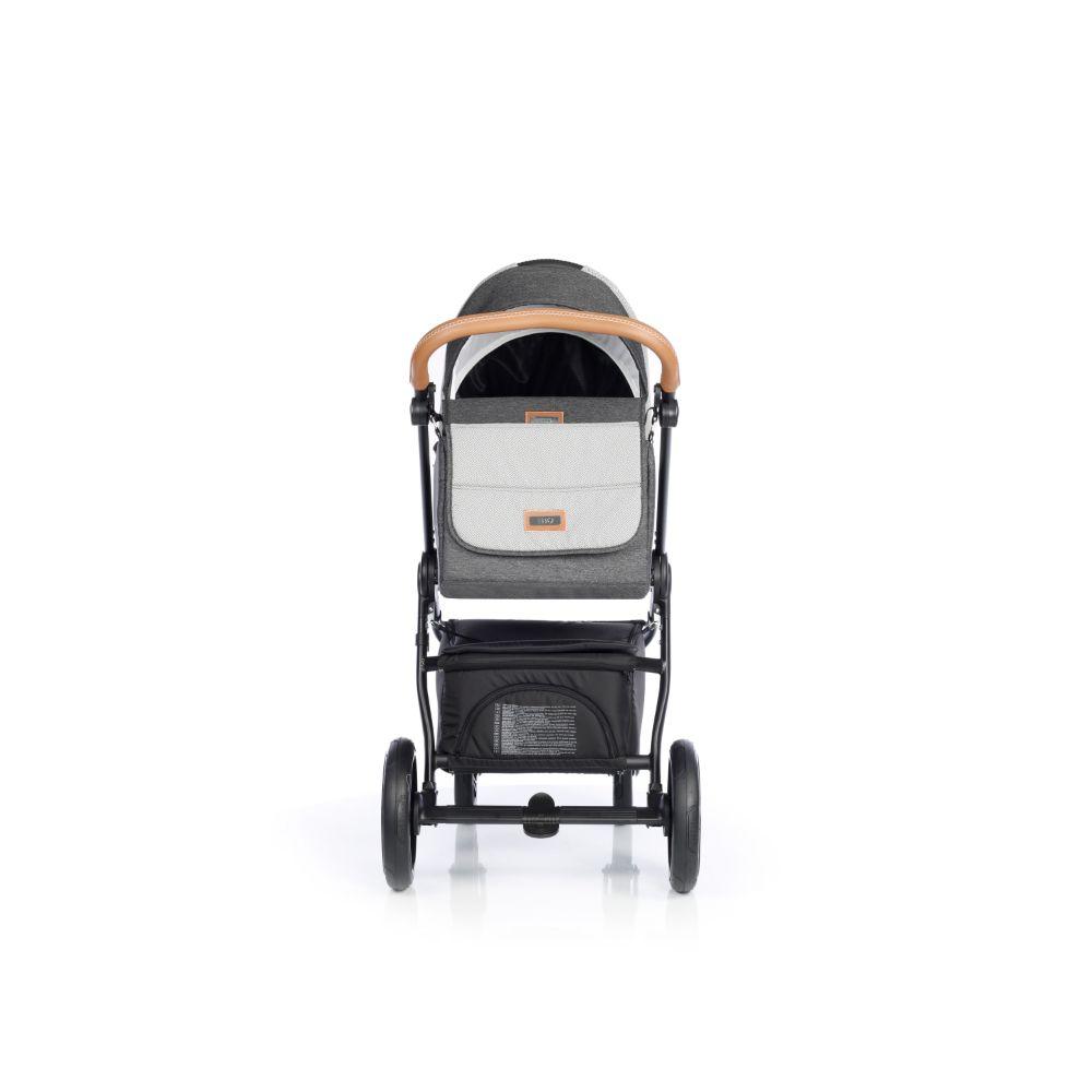 Wózek głeboko spacerowy Roan Esso zestaw 2w1 kolor Neutral Caramel + GRATIS !