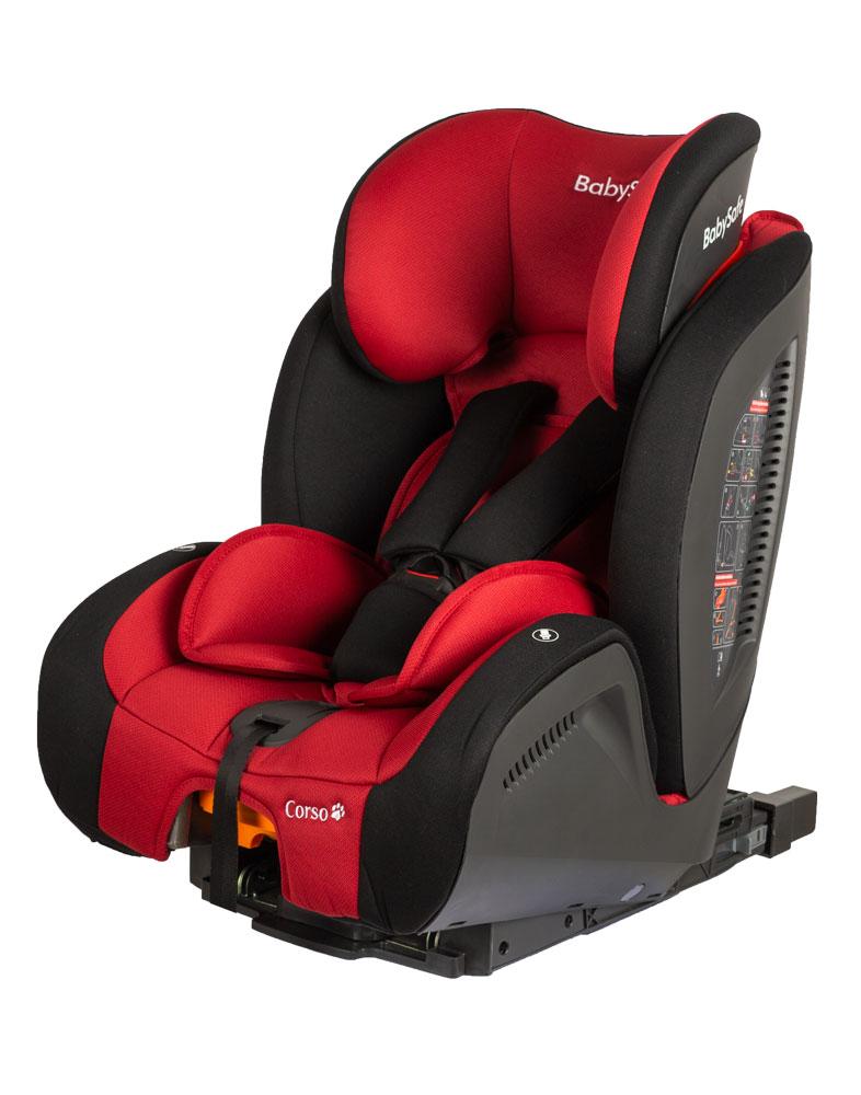 Fotelik samochodowy Baby Safe Corso isofix 9-36 kg, kolor Szary