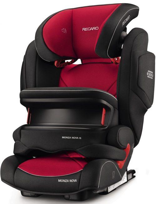 Fotelik samochodowy 9-36 kg Recaro Monza Nova IS Seatfix z osłoną tułowia kolor Racing Red