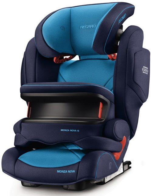 Fotelik samochodowy 9-36 kg Recaro Monza Nova IS Seatfix z osłoną tułowia kolor Xenon Blue