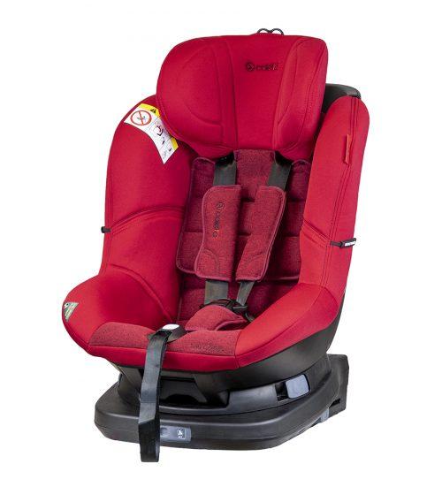 Fotelik samochodowy 0-18 kg Coletto Millo ISOFIX kolor Red