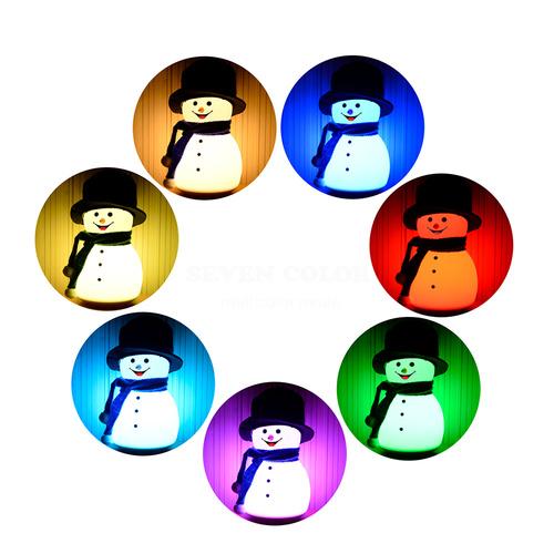 InnoGio Lampka Snowman Boy nocna lampka dla dziecka