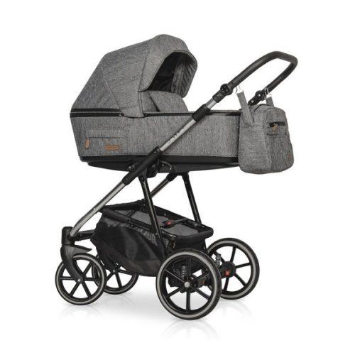 Wózek głęboko spacerowy Riko Swift Premium zestaw 2w1 kolor Titanium