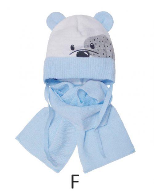 Szalik + czapka zimowa dla dziecka rozmiar 44-46