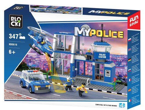 Klocki Blocki MyPolice Duża Komenda komisariat policji 347 el.