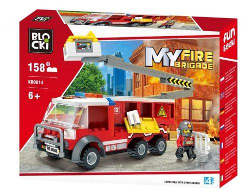 Klocki Blocki MyFireBrigade Podnośnik 158 el.  straż pożarna