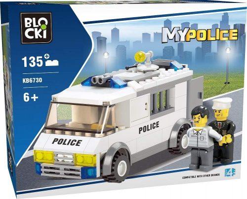 Klocki Blocki MyPolice Więźniarka 135 el.