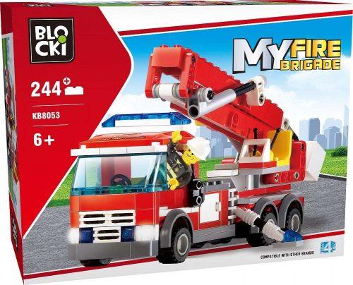Klocki Blocki MyFireBrigade Wóz Strażacki 244 el. straż pożarna