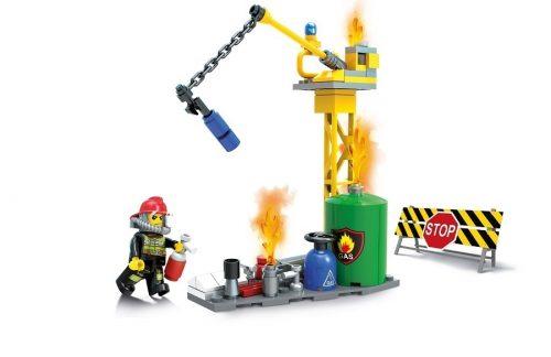 Klocki Blocki MyFireBrigade Auto Strażackie 206 el straż pożarna