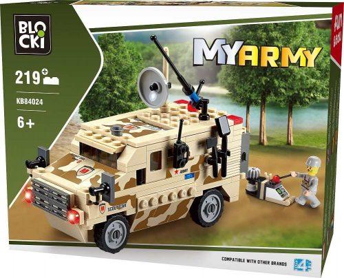 Klocki Blocki MyArmy Wóz Zwiadowczy 219 el.