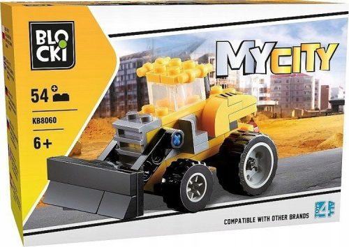 Klocki Blocki MyCity Spychacz 54el.