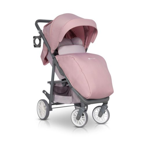 Wózek spacerowy Euro Cart Flex do 22 kg, kolor Powder Pink