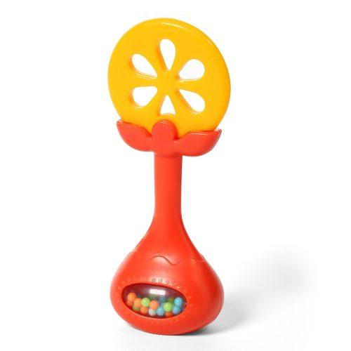 Grzechotka z gryzakiem pomarańcz BabyOno 499